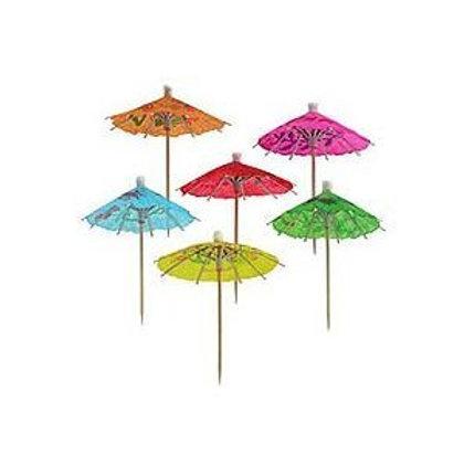 Pretty paper drinks umbrellas.