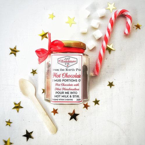 Luxury Hot Chocolate for Christmas.