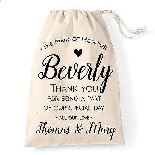 Maid of Honour Elegant Wedding bag.