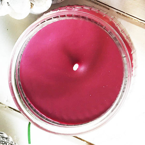 Christmas candle stocking filler Warm Spiced Apple and Cinnamon Scent