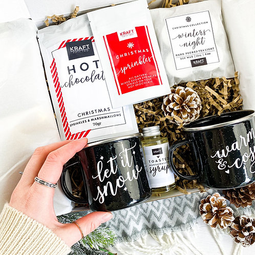Hot Chocolate Gift Set for Two