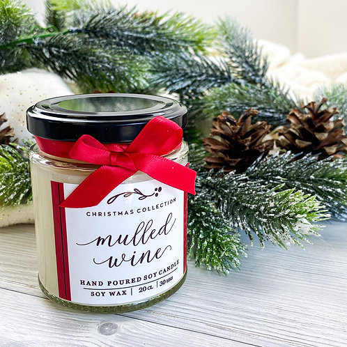 Mulled Wine Candle Jar