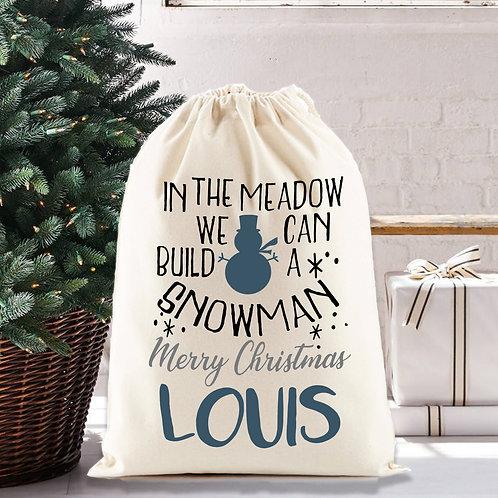 Snowman Santa Sack for your Christmas gifts.