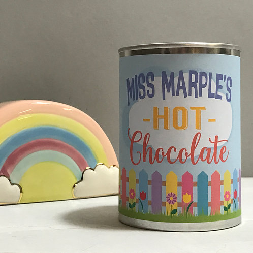 Personalised Teacher Hot Chocolate in a Tin