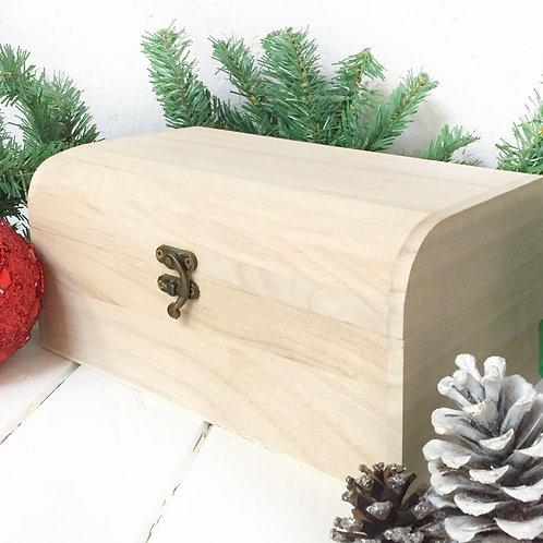 Small Treaure Chest wooden box 20cm
