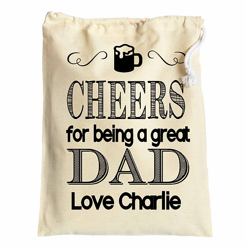 Cheers Dad Father's Day Gift bag