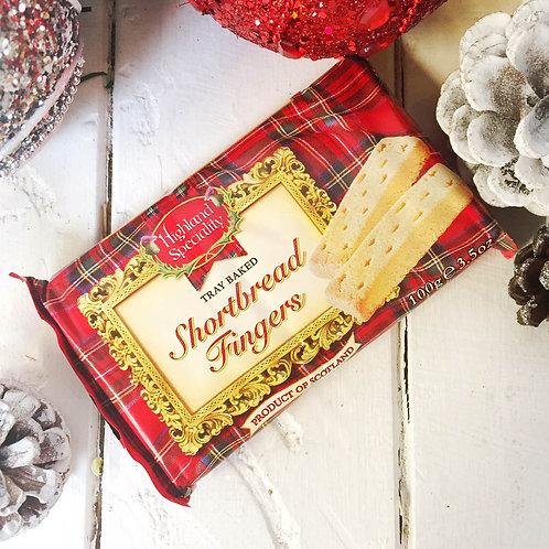 Shortbread biscuits 8 sticks per pack