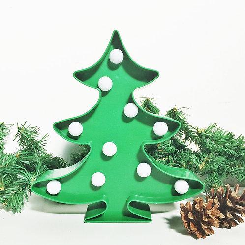 Light up Christmas tree decoration