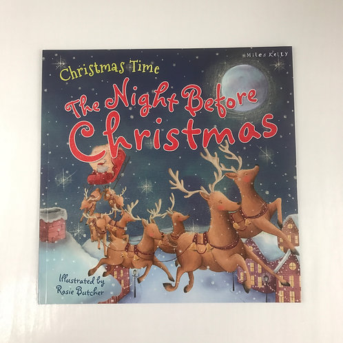 The Night Before Christmas ( Miles Kelly ) Book