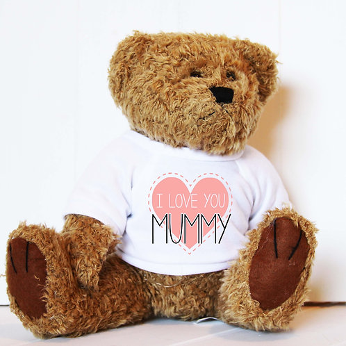 Love You Mummy Mothers Day Bear