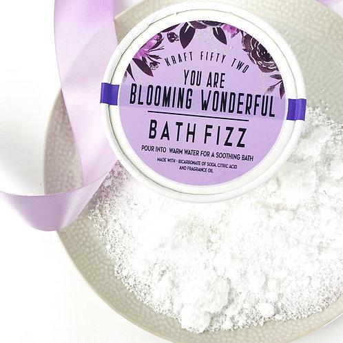 Blooming Wonderful Bath Fizz