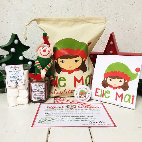 Girl Elf Pre Filled Gift set & T shirt