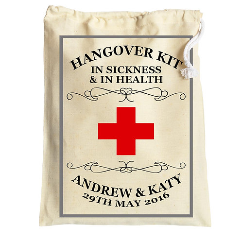 In Sickness and in Health Hen Party Hangover Bag
