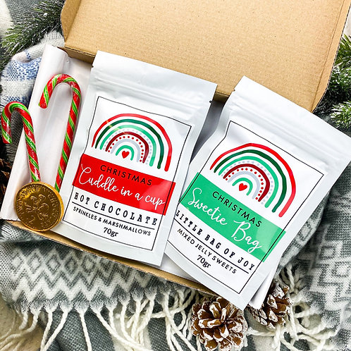 Letterbox Christmas Hot Chocolate & Sweets