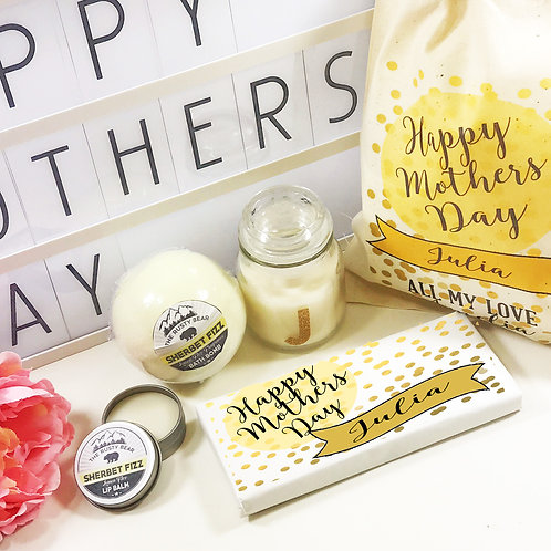 Personalised Happy Mothers Day Gift Set