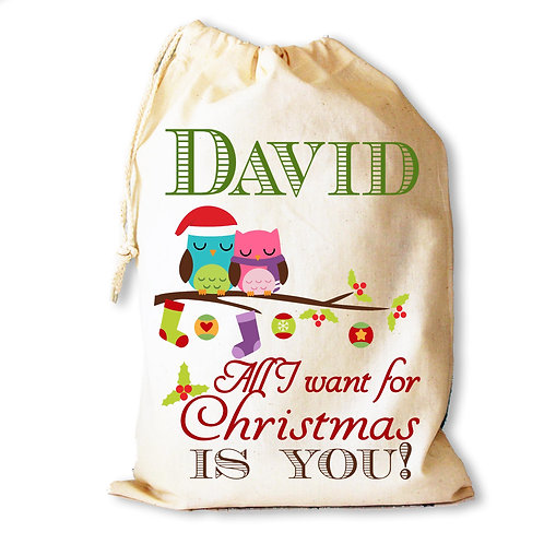 All I Want For Christmas Is You gift bag