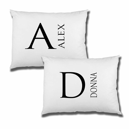 Monogram Pillowcase set