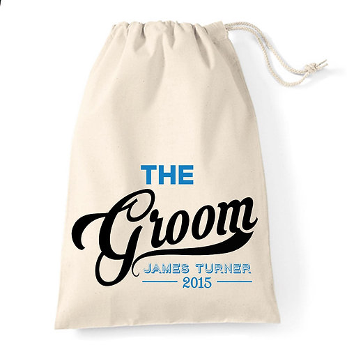 The Groom wedding day Gift Bag