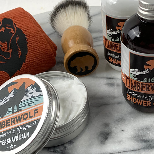 Timberwolf 5pc Gift Set, Socks, Shower Gel, Aftershave Balm, Shampoo and