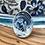 Thumbnail: Statement Ocean Ring - round