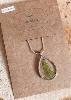 Open bezel pendant