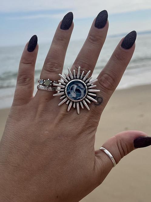 Statement Ocean Ring