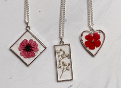 Silver plated necklace