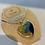 Thumbnail: Little ocean heart necklace