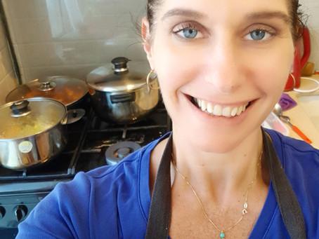 בישול ביתי: הדרך שלי לתת אהבה ובריאות למשפחה ולעצמי