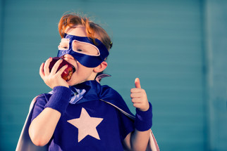 Shape Your Child's Eating Habits Using Their Hero's Favorite Foods