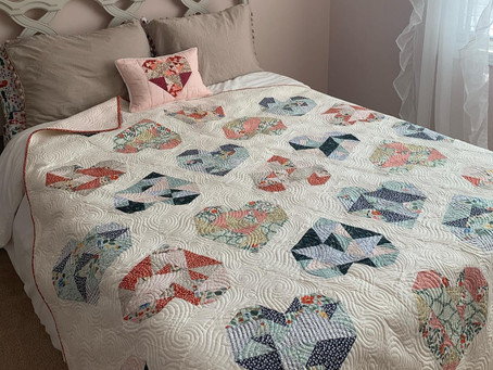 """The """"Oh My Heart Quilt"""" Pattern"""
