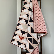 Cafe Tiles Throw Quilt for Sale