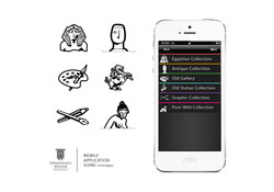 Szepművészeti Múzeum App ikonok