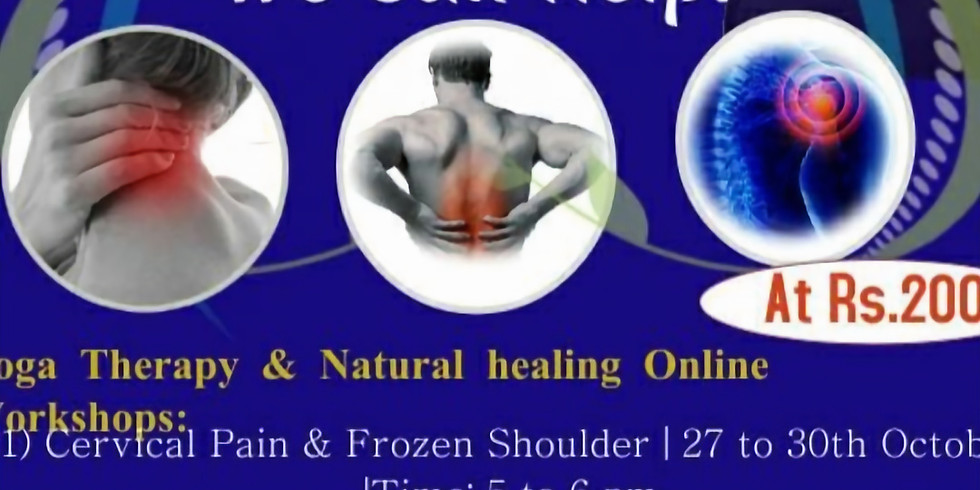 Yoga Therapy & Natural Healing Workshops