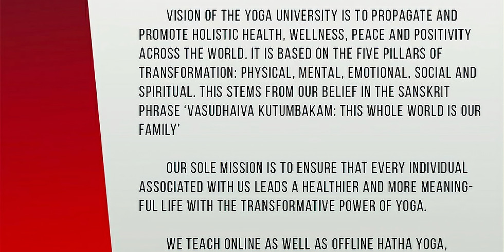 International E-Yoga Week Festival