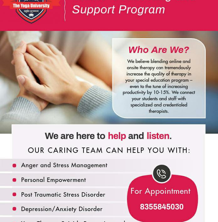 Online Counselling and Support Program