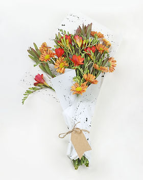 Orange Flower Bouquet