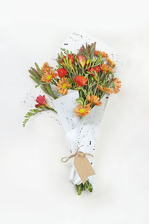 Orange Flower Bouquet