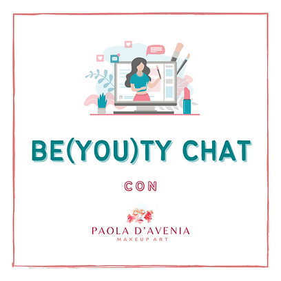 LOGO BE(YOU)TY CHAT con PAOLA D'AVENIA M
