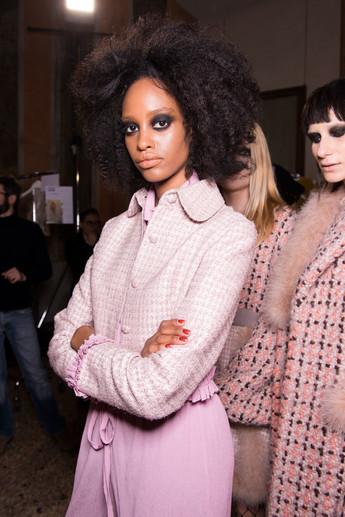 Daizy Shely - Milan Fashion Week A/W '17-'18