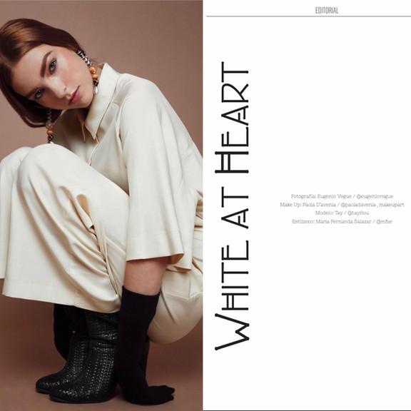 White at Heart - Veces Magazine