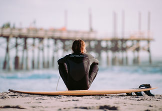 Resting Surfer