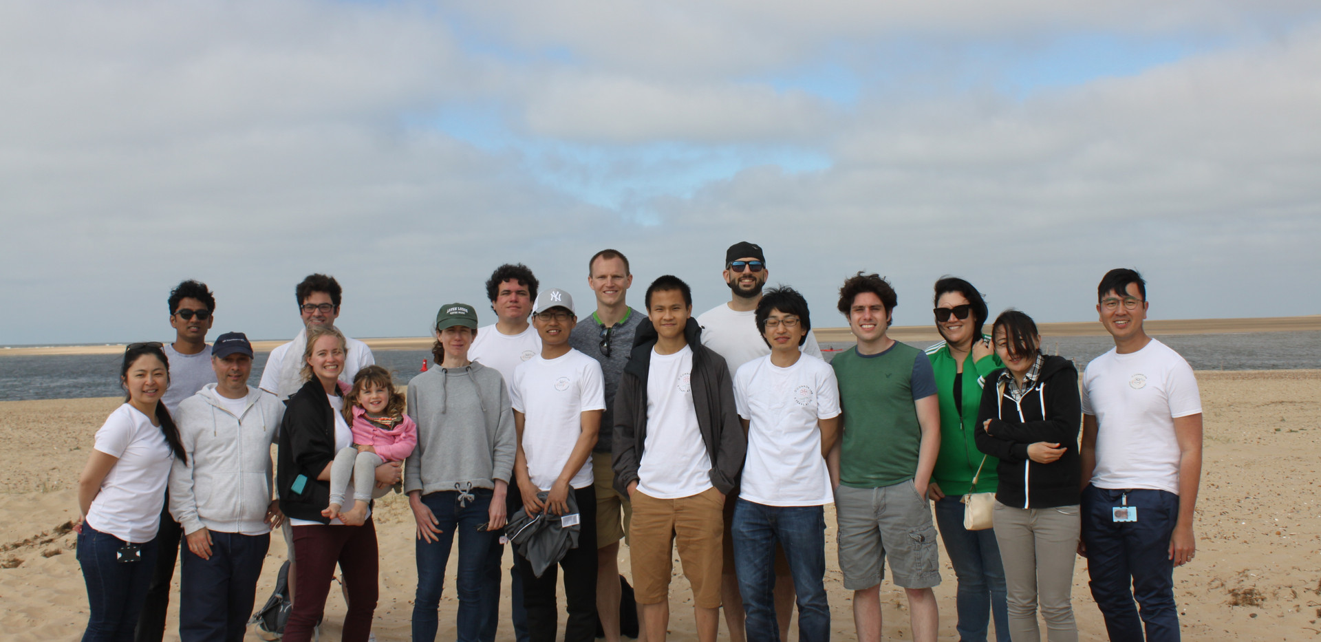 Lab retreat at Well-next-to-Sea (June 2018)