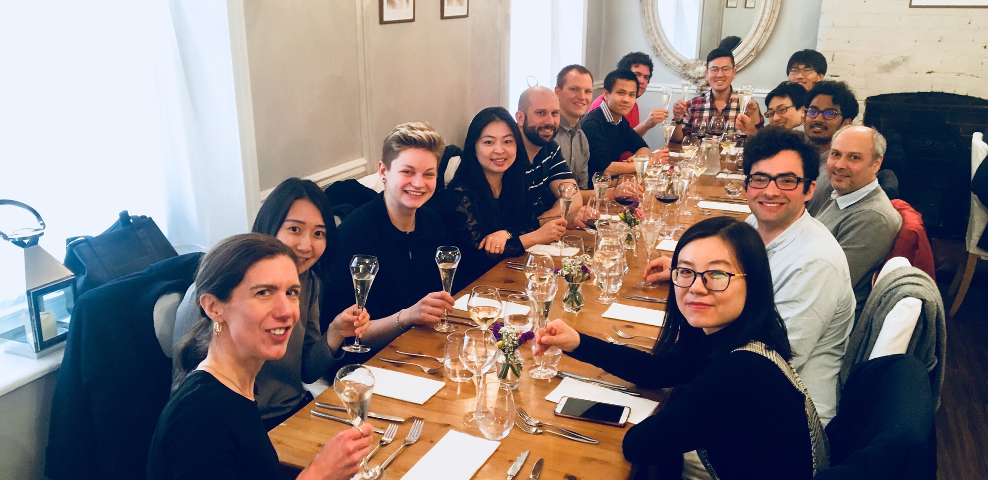 Group Lunch for ERC (2018)