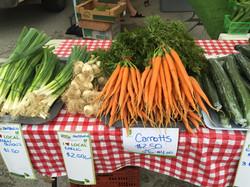 gr onions carrots cucs
