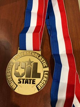 Two James Bowie High School wrestlers win state titles. Austin, Texas