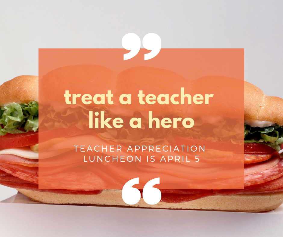 treat a teacher to lunch