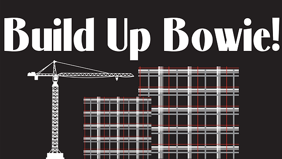 Build Up Bowie Crane Graphic
