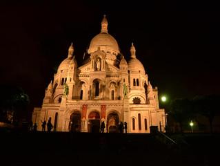 Sala de Concertos da Filarmônica de Paris e Sacre Coeur