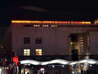Visita ao Conservatório de Paris